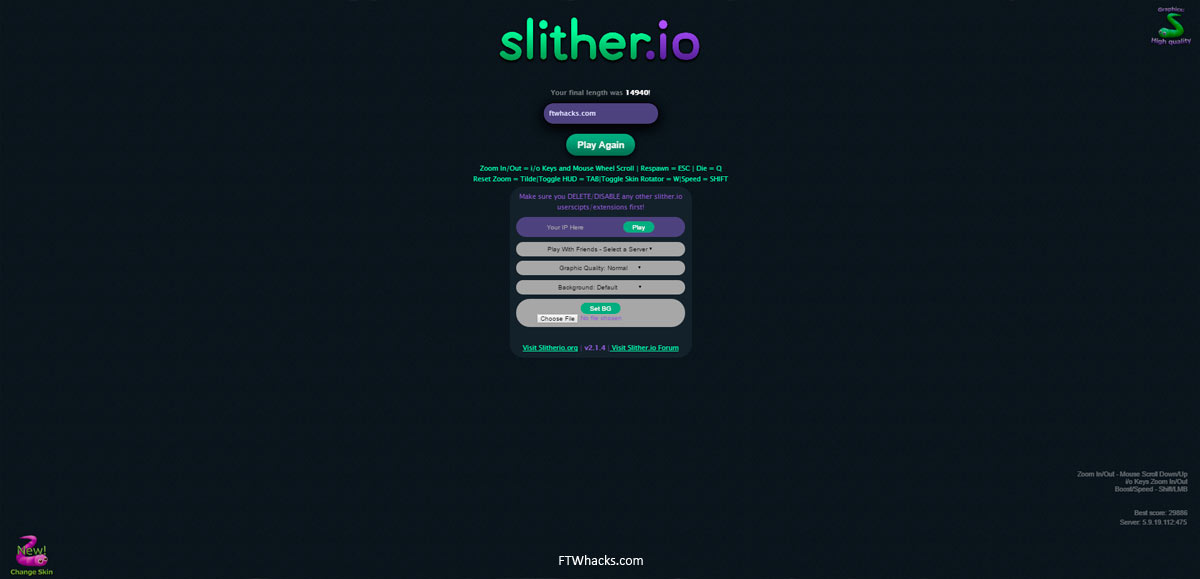 Slither Io Hack