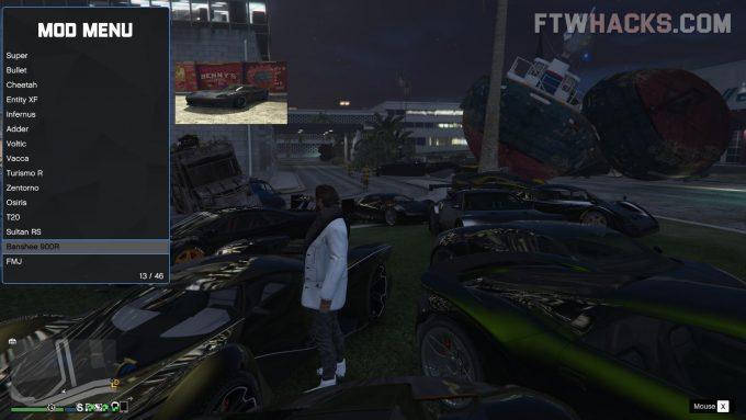 GTA Online Mod Menu Hacks