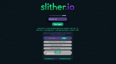 Slither.io mods, hacks, cheats, skins and extensions