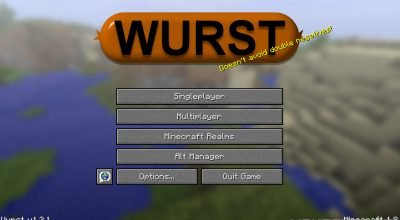 Wurst 1.9 Minecraft Hack